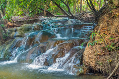 River Waterfall Hot Spring Stock Images
