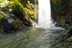 River waterfall landscape royalty free stock photography