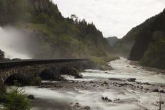 River, Waterfall, Rapid, Highland stock photos
