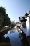 River. A river way in Suzhou, Beijing Stock Photography