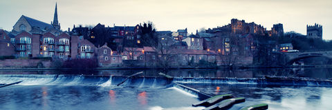 River Wear at Durham Stock Photography