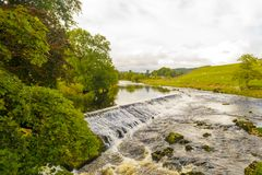 River weir Royalty Free Stock Photos