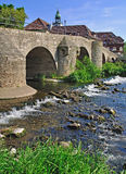 River Werra,Thuringia Royalty Free Stock Photography