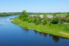 River Western Dvina in Belarus Stock Photography