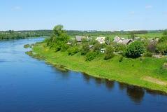 River Western Dvina in Belarus Stock Photography