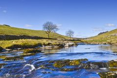 River Wharfe scenic Royalty Free Stock Photos