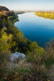 The river White in Ufa. Beautiful river white in Ufa Stock Images