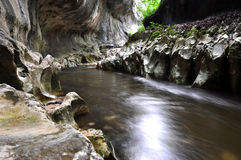 River in a wild gorge Royalty Free Stock Photo