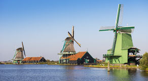 River and windmill Royalty Free Stock Photography