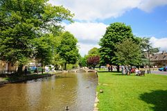 River Windrush, Bourton on the Water. Stock Images