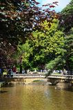 River Windrush, Bourton on the Water. Royalty Free Stock Image