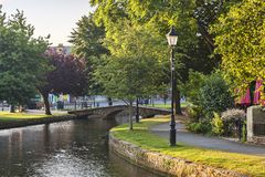Bourton on the Water, Gloucestershire, UK stock photography