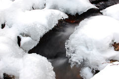 River during Winter Stock Photography