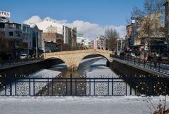 River in winter - Kastamonu Stock Photography
