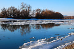 River on winter Royalty Free Stock Image