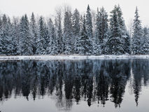 River in winter Stock Photos