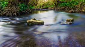 River Worsbrough Royalty Free Stock Images