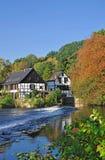River Wupper,Bergisch land Stock Image