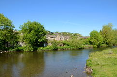 The River Wye at Bakewell Royalty Free Stock Photo