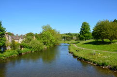 The River Wye at Bakewell Royalty Free Stock Images