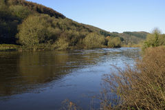 River Wye at high water Stock Photography