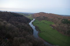 River Wye near Symonds Yat Royalty Free Stock Photography