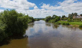 River Wye Ross-on-Wye Herefordshire England uk a small market town Stock Images
