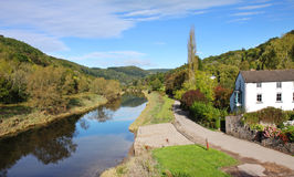 The River Wye in the UK Royalty Free Stock Photos