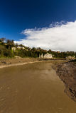 River Wye at Wintour's Leap. Royalty Free Stock Photography