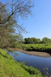 River Wyre, Garstang, Lancashire. Royalty Free Stock Images
