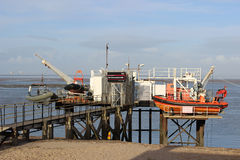 River Wyre Launching Facility Fleetwood Lancashire Royalty Free Stock Images