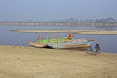 River Yamuna Royalty Free Stock Image