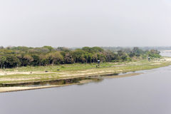 River Yamuna Stock Image