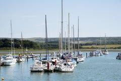 THE RIVER YAR AT YARMOUTH ISLE OF WIGHT UK - Royalty Free Stock Image