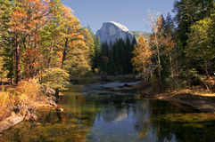 River in Yosemite Stock Photography