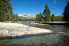 River in Yosemite Stock Image