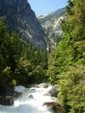River in Yosemite. Yosemite is a National Park located in California stock image