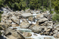 River in Yosemite Stock Images