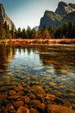River in Yosemite Valley Royalty Free Stock Images