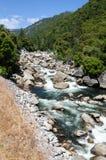 River in Yosemite Valley Stock Image