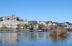 River in Zamora Stock Photography