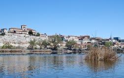 River in Zamora Stock Photography