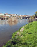 River of ZAmora with bridge Stock Photos