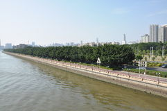 River. Zhu river in south China, the second big river in China Stock Photos