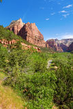 River through Zion Royalty Free Stock Images