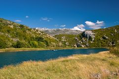 The river Zrmanja Stock Photography