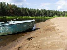 riverbank Photo stock