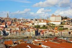 Riverbank de Douro, Oporto, Portugal Imágenes de archivo libres de regalías