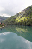 riverbank de drina de la Bosnie Photos libres de droits