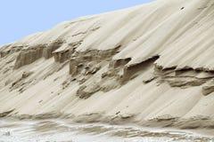 Riverbank de sable Photographie stock libre de droits